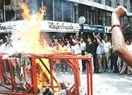 Protestas y fortalecimiento de la oposici�n
